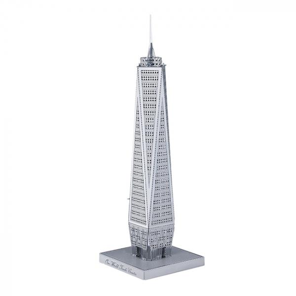 Puzzle metalic nano 3D - World Trade Center 2