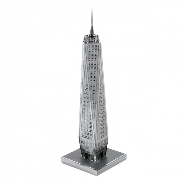 Puzzle metalic nano 3D - World Trade Center 0