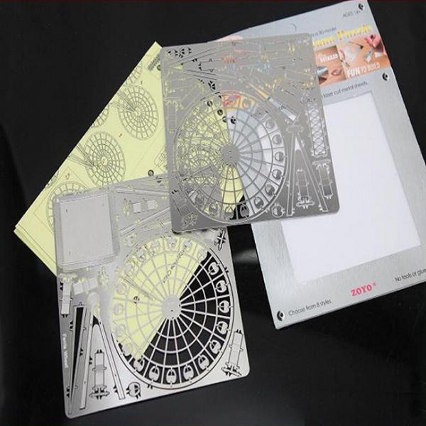 Puzzle nano metalic 3D - Roata Ferris 1