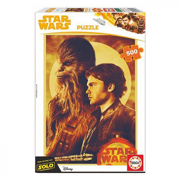 Puzzle Star Wars Han Solo 500 piese 6+ 0