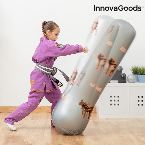 Sac de Box cu Picior Gonflabil pentru Copii 6+ 7