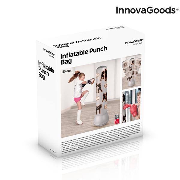 Sac de Box cu Picior Gonflabil pentru Copii 6+ 1