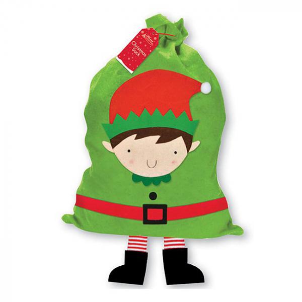 Sac pentru cadouri Elf 92,5cm 0