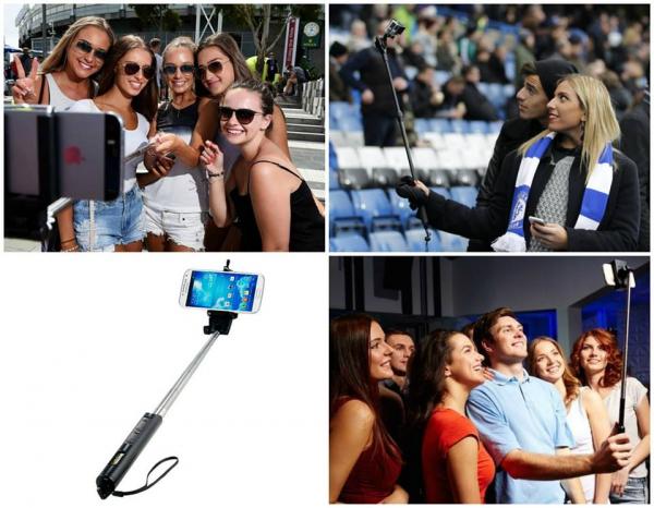 Selfie Stick Black 0