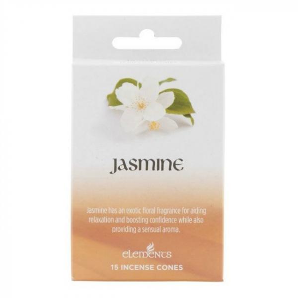 Set 15 conuri parfumate Iasomie 0