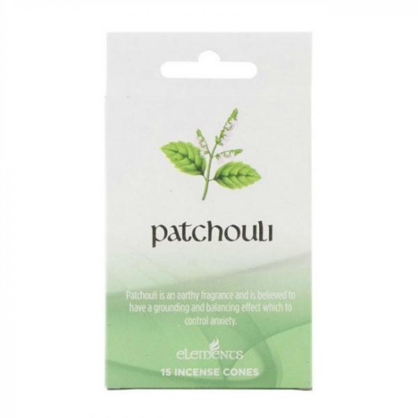 Set 15 conuri parfumate Patchouli [0]