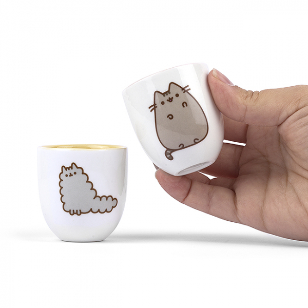 Set 2 suporturi oua Pusheen  4