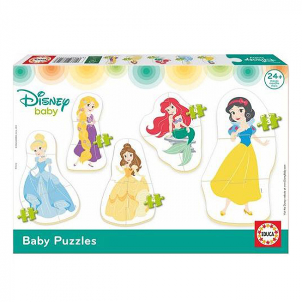 Set 5 Puzzle-uri baby Printese Disney 2+ 0