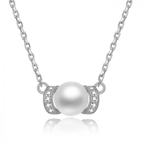 Set bijuterii argint rodiat Pearls 3