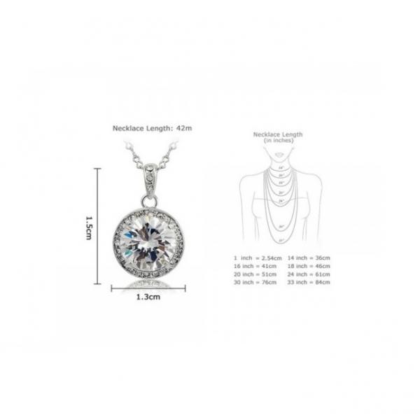 Set bijuterii Single stone 5