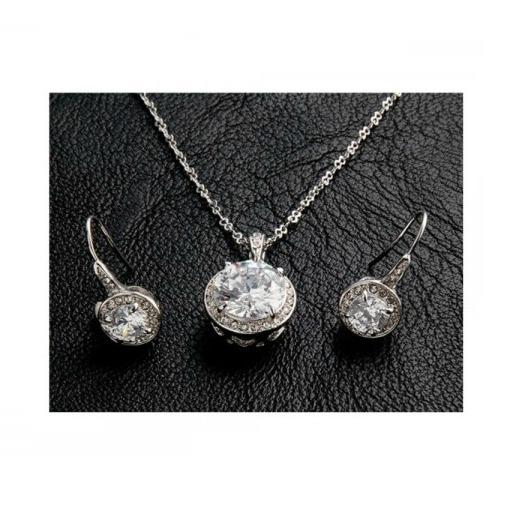 Set bijuterii Single stone 2