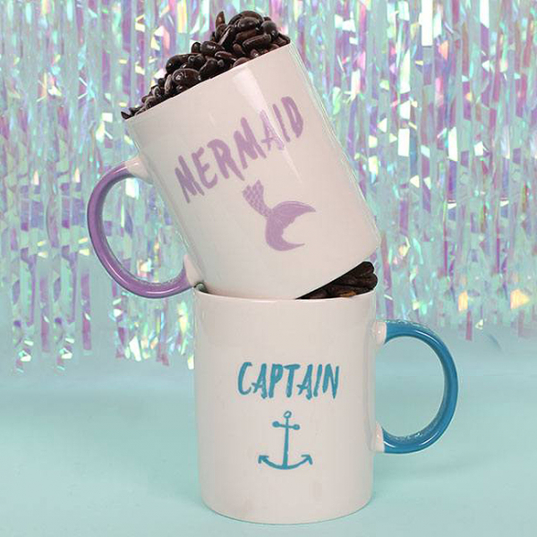 Set cadou 2 cani ceramice Captain Mermaid 1