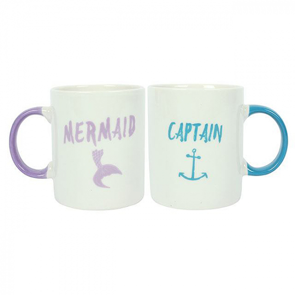 Set cadou 2 cani ceramice Captain Mermaid 0