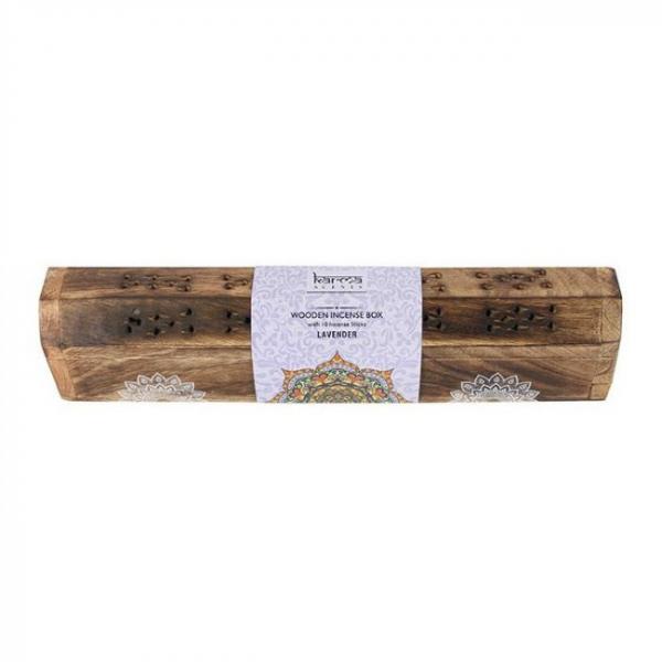 Set cadou Karma betisoare parfumate - Lavanda 1