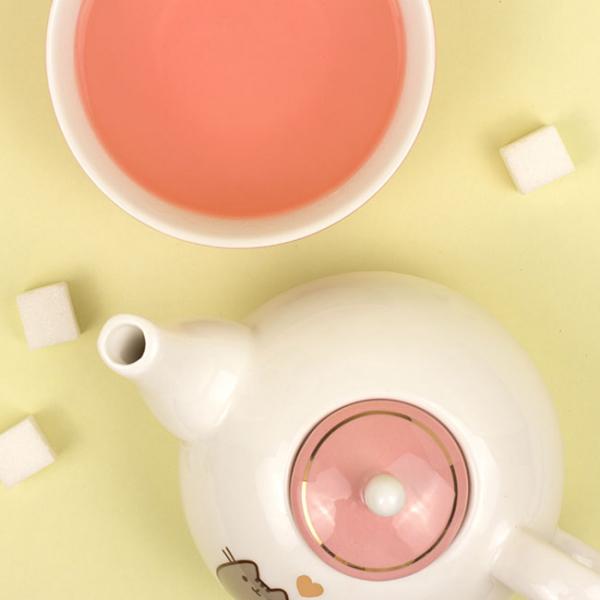 Set ceainic si ceasca Pusheen [5]