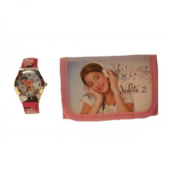 Set ceas si portofel Violetta 3
