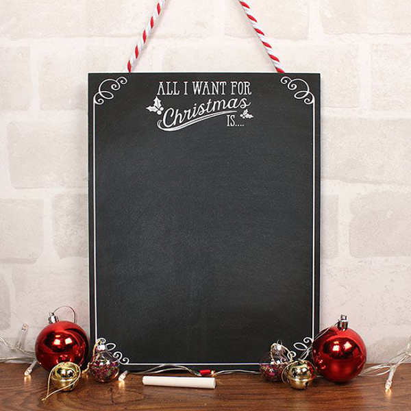 Set tablita si creta All I want for Christmas 0