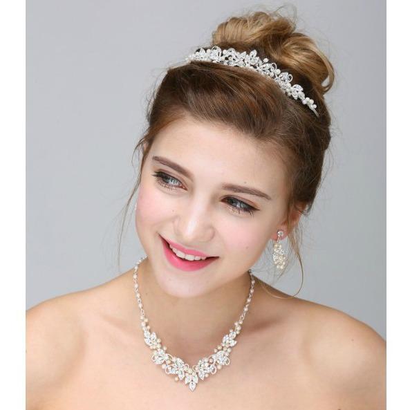 Set tiara, colier si cercei Princess 0