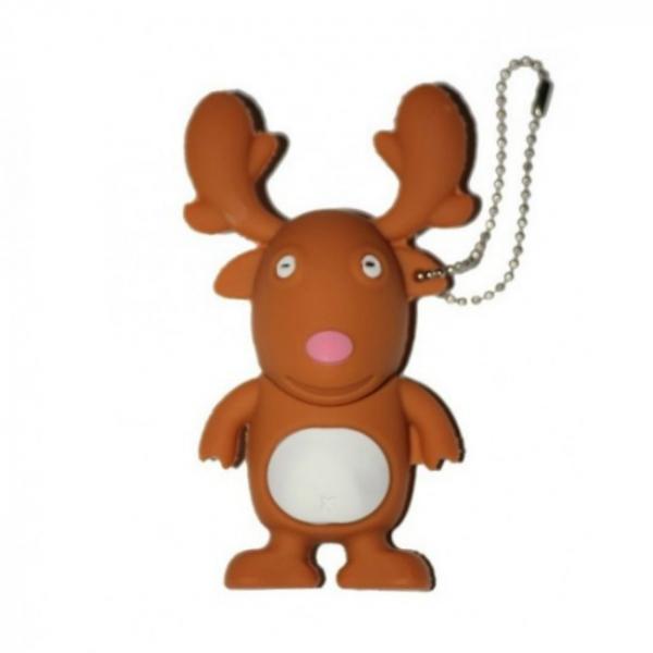 Stick memorie Happy Reindeer - 16 GB 0
