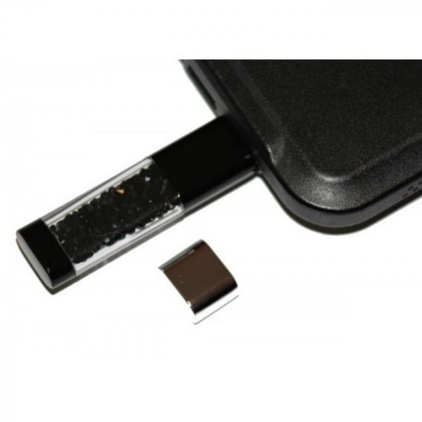 Stick memorie Shiny Crystal - Black - 8GB 4
