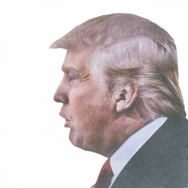 Sticker auto - Donald Trump 1