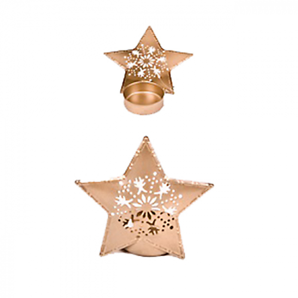 Suport lumanare Star Goldy [0]