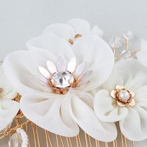Tiara Agrafa Delicate Flower 1