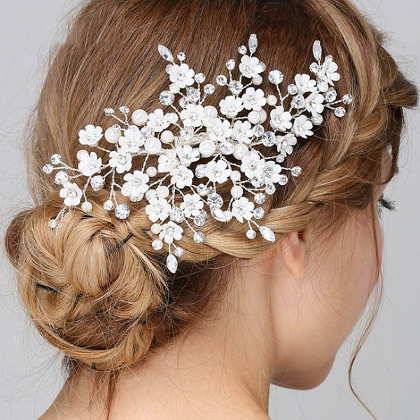 Tiara Clips Enchanted Blossom [0]