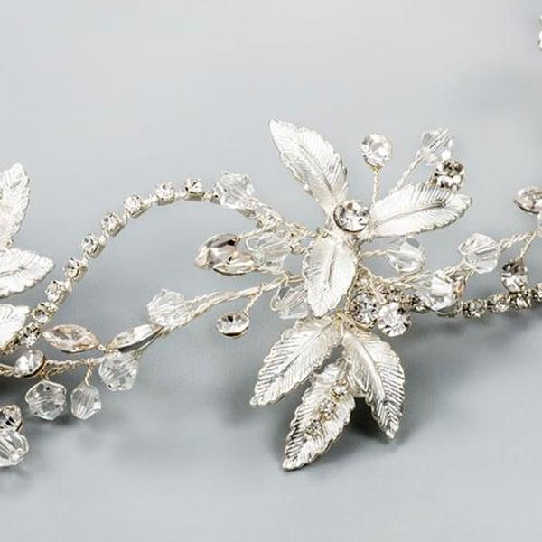 Tiara Crystal Leaf [5]