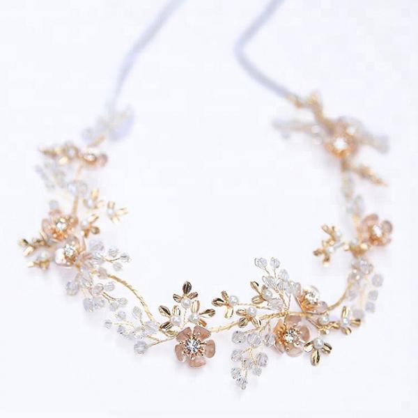 Tiara Delicate Crystals&Pearls 5