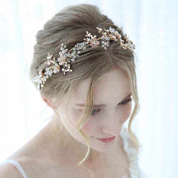 Tiara Delicate Crystals&Pearls 0