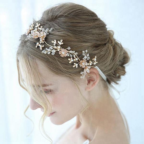 Tiara Delicate Crystals&Pearls 2