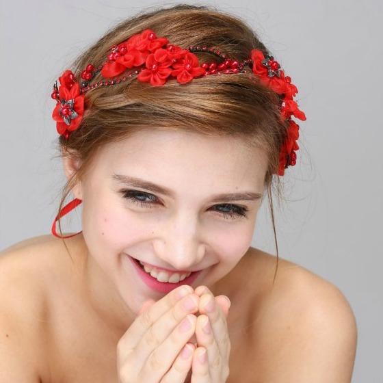 Tiara Red Flowers 0