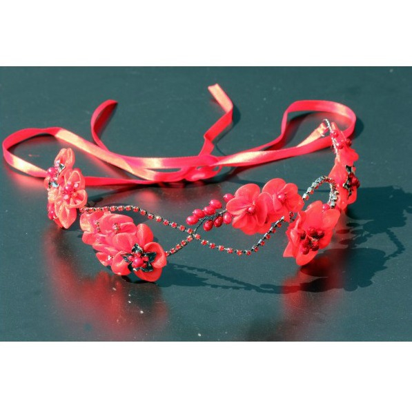 Tiara Red Flowers 1