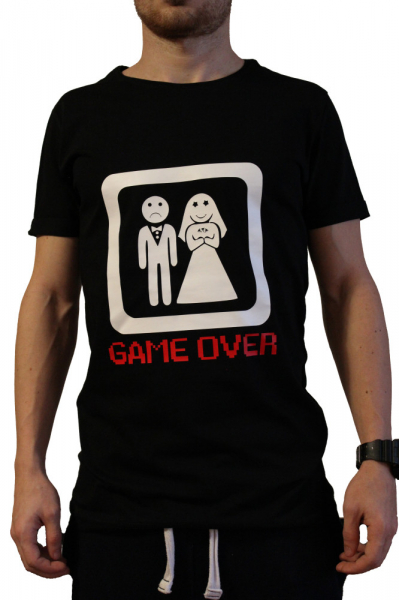 Tricou Game Over 0