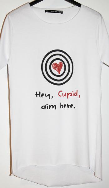 Tricou Hey Cupid - Pentru Ea 4