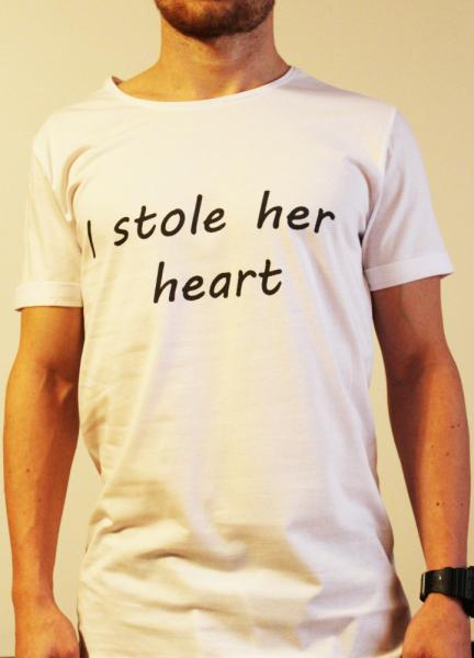 Tricou I stole her heart 0