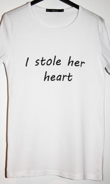 Tricou I stole her heart 1