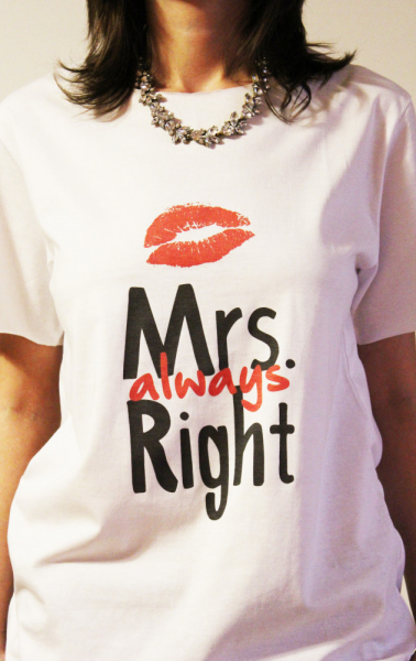 Tricou Mrs Always Right 1