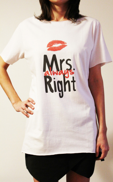 Tricou Mrs Always Right 2
