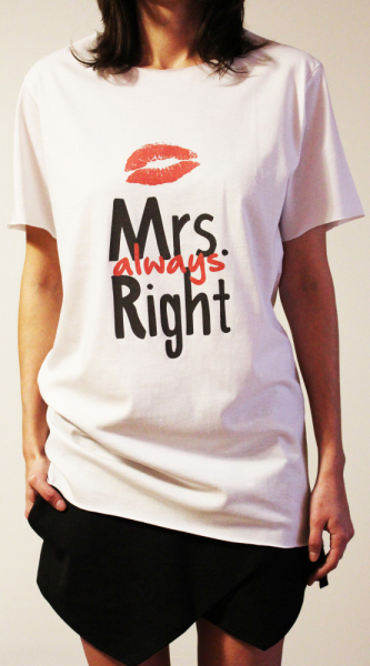 Tricou Mrs Always Right 3