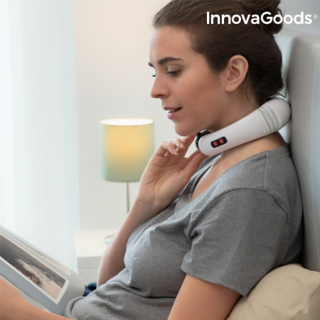 Aparat de masaj pentru gat si spate electromagnetic2