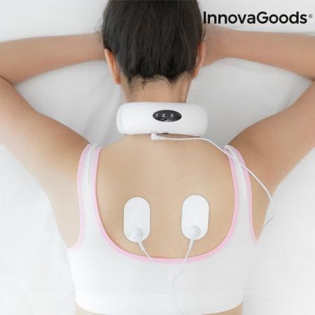Aparat de masaj pentru gat si spate electromagnetic0
