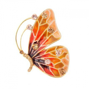 Brosa Crystal Butterfly0