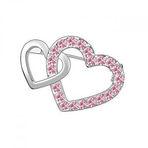 Brosa Hearts Pink0