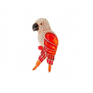 Brosa Red&Champagne Gold Parrot0