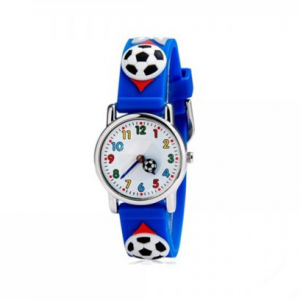 Ceas pentru copii Football Print0