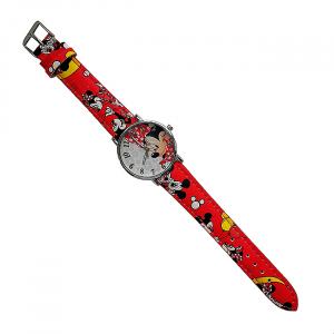 Ceas pentru copii Minnie Red0
