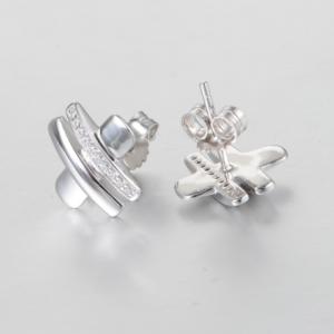 Cercei Cubic Zirconia argint2