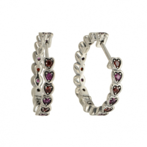 Cercei Hearts argint [0]